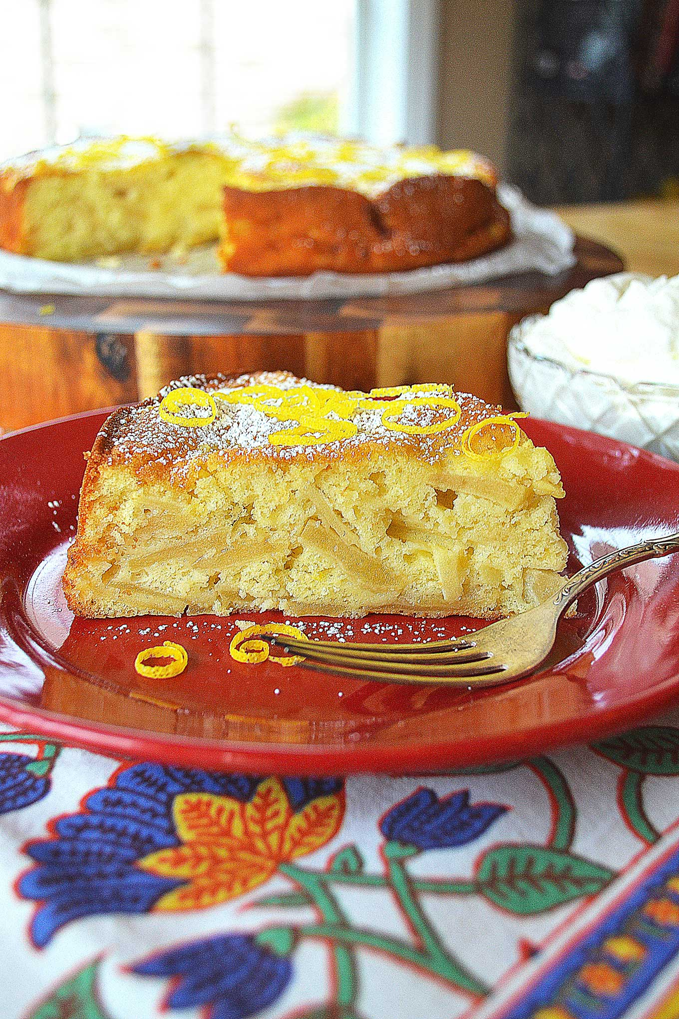 vanilla apple cake | rusticplate.com