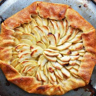 apple galette | rusticplate.com