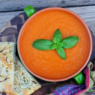 cream of tomato soup | rusticplate.com