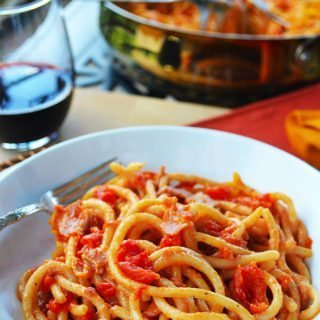 pici all'amatriciana | rusticplate.com
