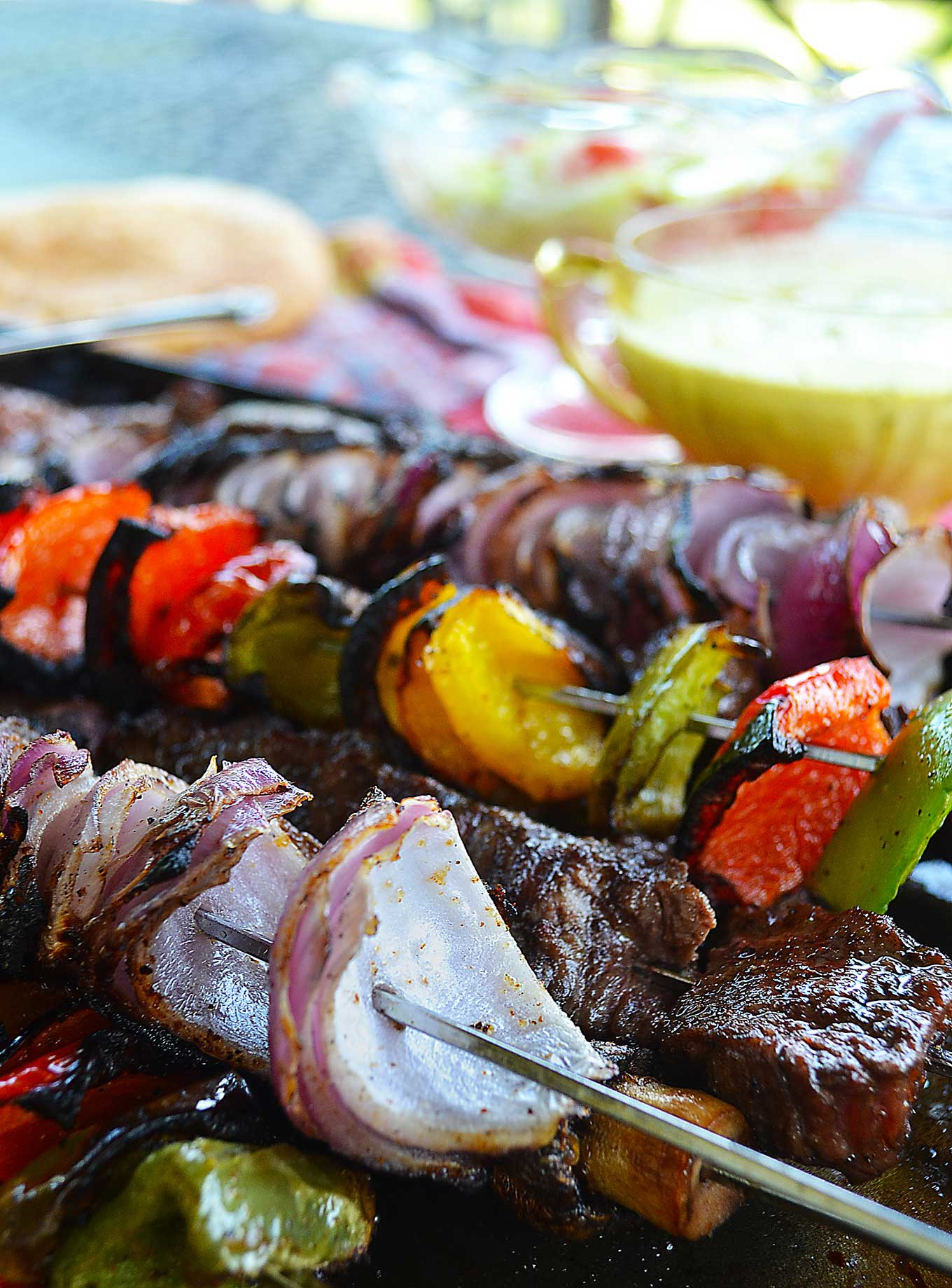 tender petite medallion shish kebabs | rusticplate.com