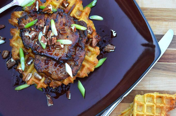 pork medallions with spicy maple sauce | rusticplate.com