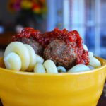 pork & beef meatballs with parsley | rusticplate.com