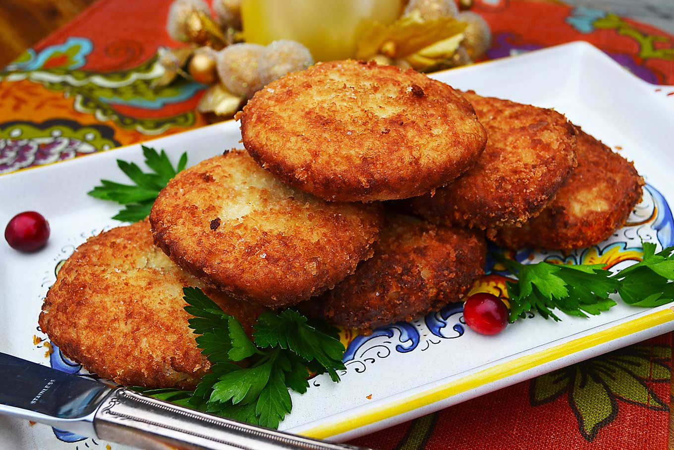 turkey croquettes | rusticplate.com