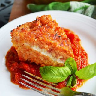 tomato rice bake | rusticplate.com