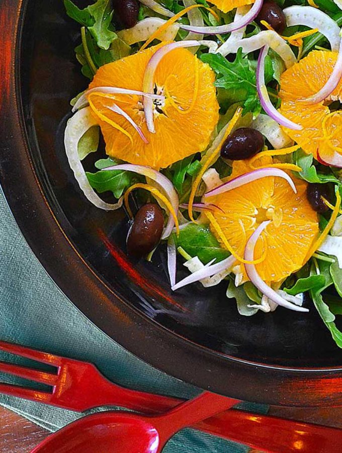 fennel, orange & kalamata olive salad | rusticplate.com