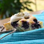 blueberry cake | rusticplate.com