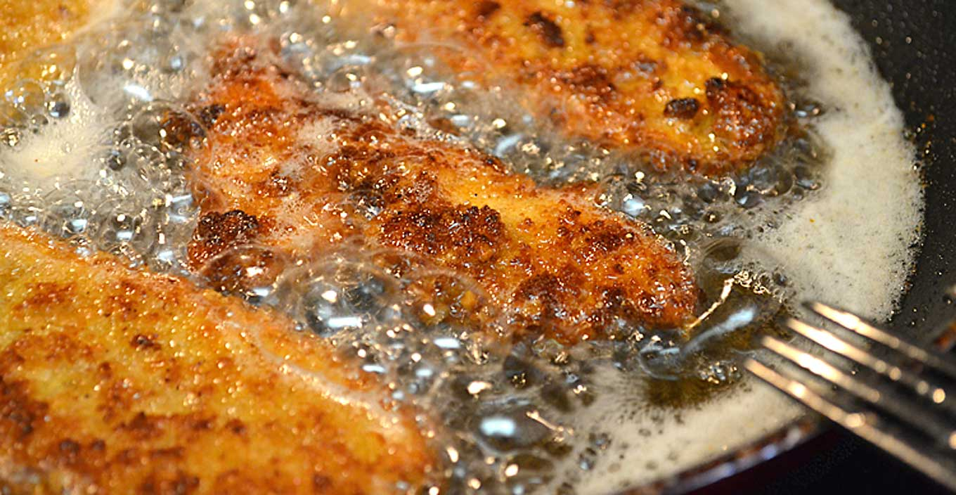 breaded chicken cutlets | rusticplate.com
