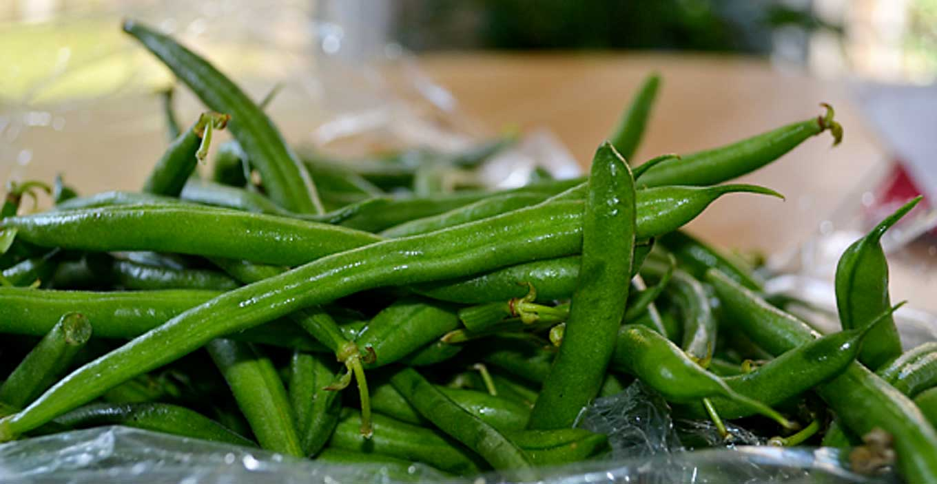 how to blanch green beans | rusticplate.com