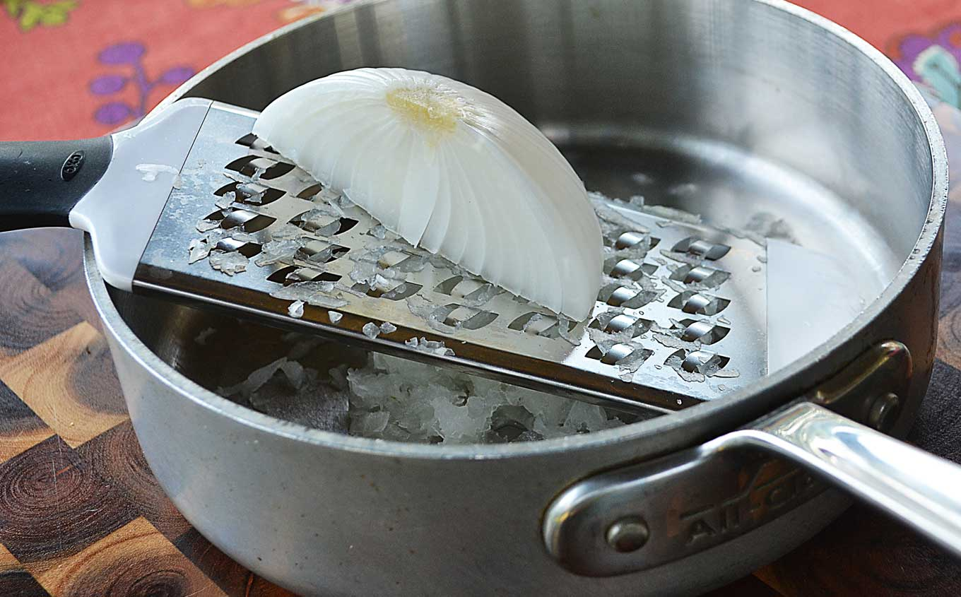 how-to-grate-an-onion | rusticplate.com