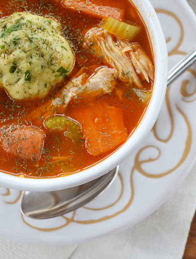 penicillin soup with matza balls