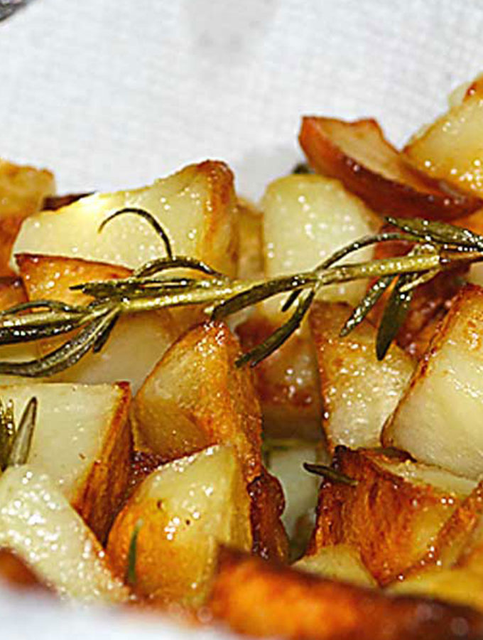 pan-fried rosemary potatoes