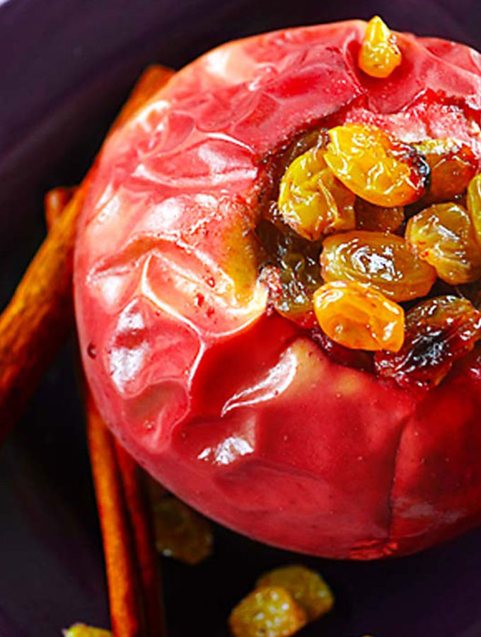 spiced baked apples | rusticplate.com
