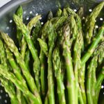 how to blanch asparagus | rusticplate.com